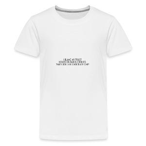 I BLAME MY TRUST ISSUES ON - Kids' Premium T-Shirt