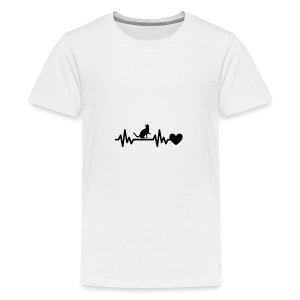 Cat Heart - Kids' Premium T-Shirt