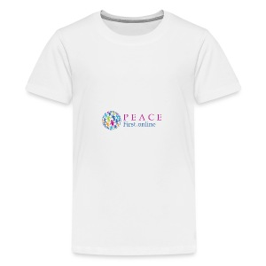 LogoPeaceFirst - Kids' Premium T-Shirt
