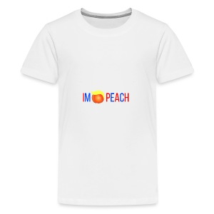 IMPEACH / RED+BLUE - Kids' Premium T-Shirt