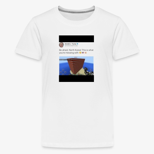 North Korea Dosent know how ther messin whit - Kids' Premium T-Shirt