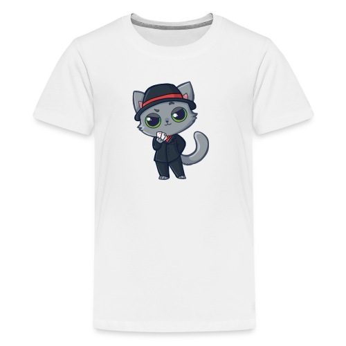 Casino Cat - Kids' Premium T-Shirt