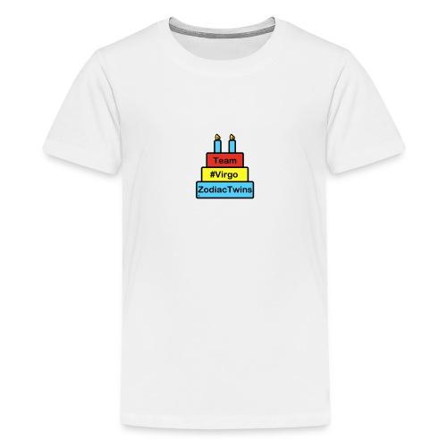 ZodiacTwins Virgo logo - Kids' Premium T-Shirt