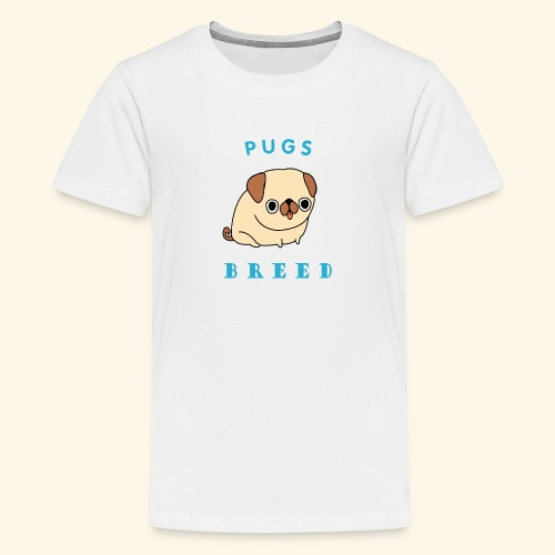 pug breed - Kids' Premium T-Shirt