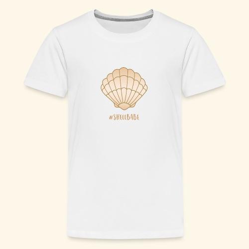 #Shellbabe - Kids' Premium T-Shirt