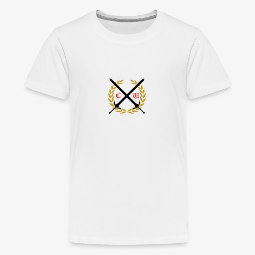 Crusaders Full Logo - Kids' Premium T-Shirt