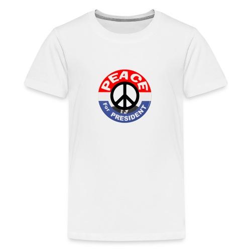 Peace For President - Kids' Premium T-Shirt