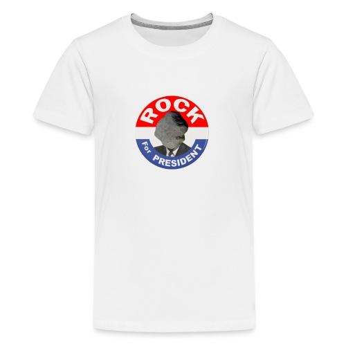 ROCK FOR PRESIDENT - Kids' Premium T-Shirt