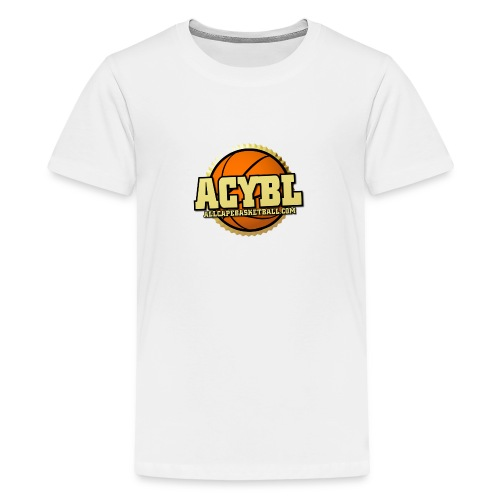 ACYBL ALL CAPE YOUTH BASKETBALL LEAGUE - Kids' Premium T-Shirt