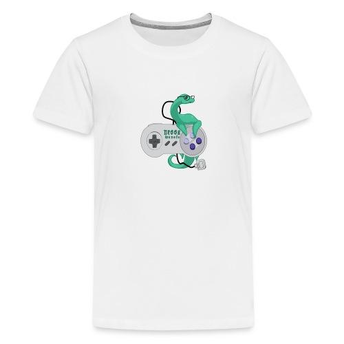 nessamonsta logo snes - Kids' Premium T-Shirt