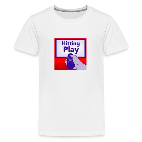Hitting Play Logo - Kids' Premium T-Shirt