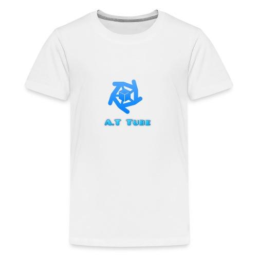 A.T Tube (White) - Kids' Premium T-Shirt