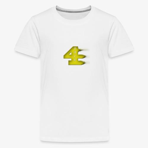 4orce (Yellow) - Kids' Premium T-Shirt