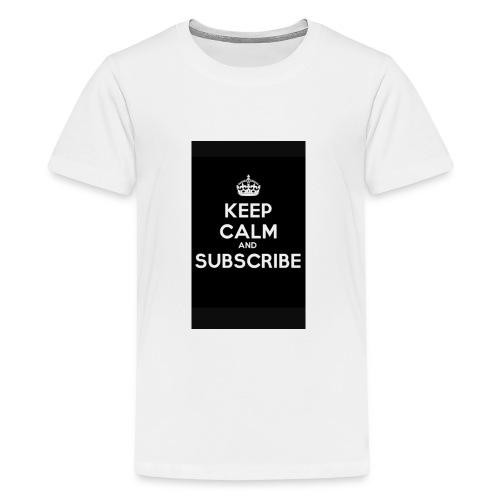 Keep calm merch - Kids' Premium T-Shirt