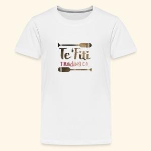 Te'Fiti Trading Co Logo 2 - Kids' Premium T-Shirt