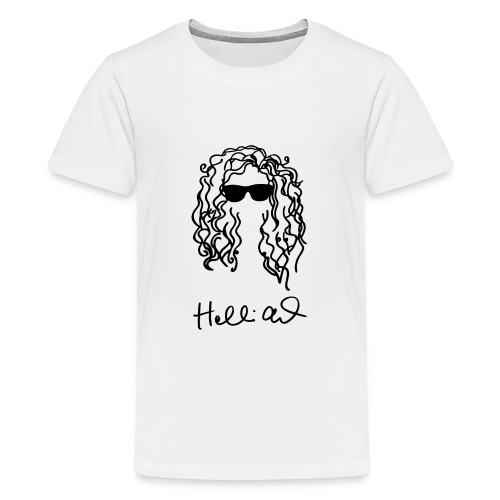 holliealisha Logo (black) - Kids' Premium T-Shirt