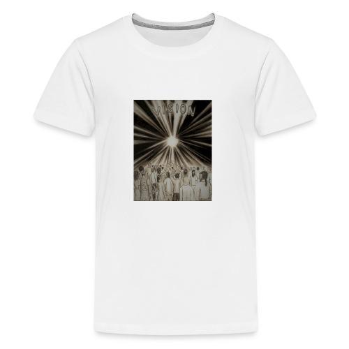 Black_and_White_Vision2 - Kids' Premium T-Shirt