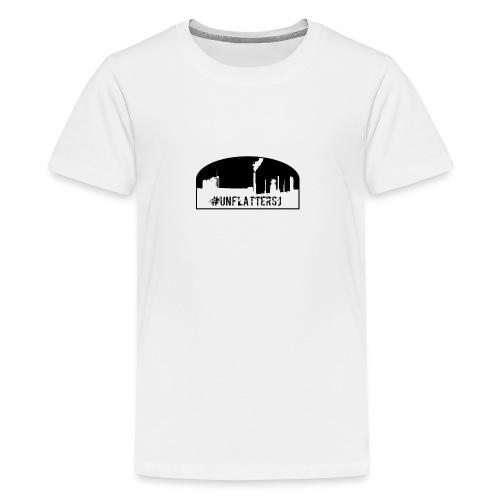 Unflatter Hashtag logo - Kids' Premium T-Shirt