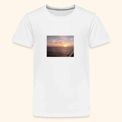 Watching the Sunset! - Kids' Premium T-Shirt