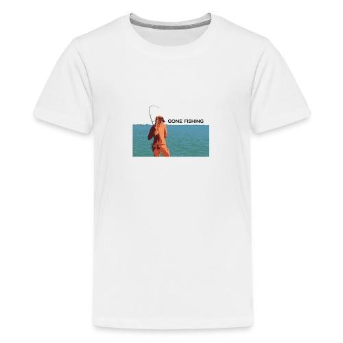 GoneFishing - Kids' Premium T-Shirt