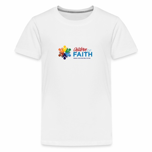 Children of Faith Logo - Kids' Premium T-Shirt