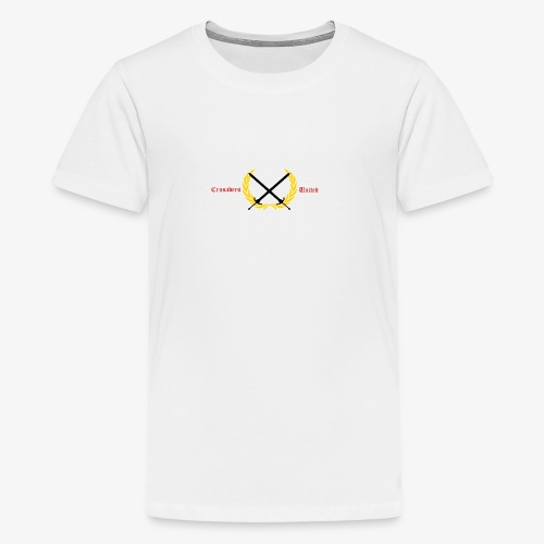 Crusaders United YouTube Logo - Kids' Premium T-Shirt