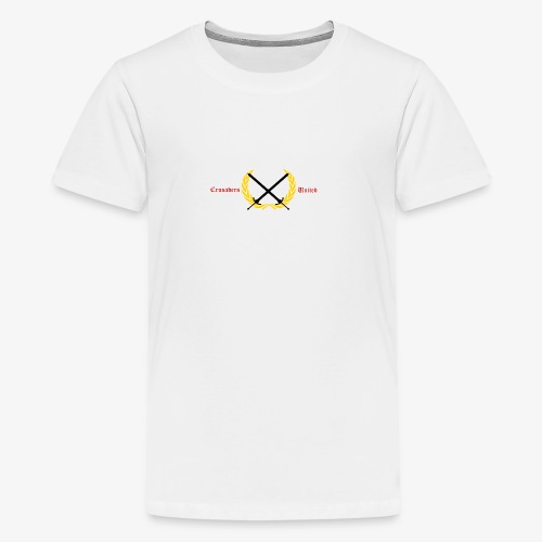 Crusaders United YouTube Logo - Kids' Premium T-Shirt