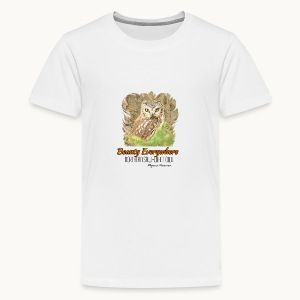 Beauty Everywhere -ORANGE- Carolyn Sandstrom - Kids' Premium T-Shirt