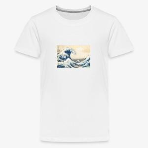 Basic waves - Kids' Premium T-Shirt