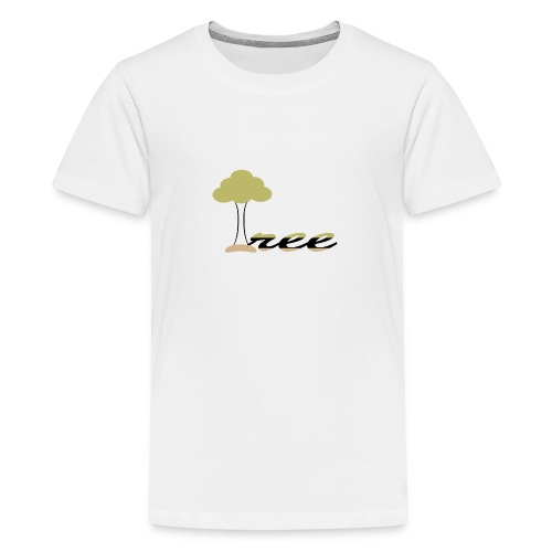 Green tree - Kids' Premium T-Shirt