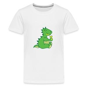 Dinosaurs Love Ice Cream - Kids' Premium T-Shirt