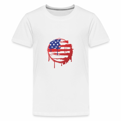 usa bleed - Kids' Premium T-Shirt