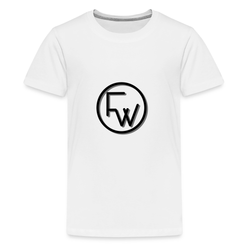 A Funny Wilson Production Black Logo - Kids' Premium T-Shirt