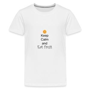 Keep-Calm-and-Eat-Fruit - Kids' Premium T-Shirt