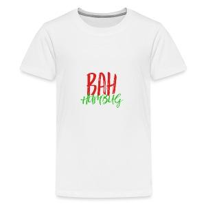 Bah Humbug Handwritten - Kids' Premium T-Shirt