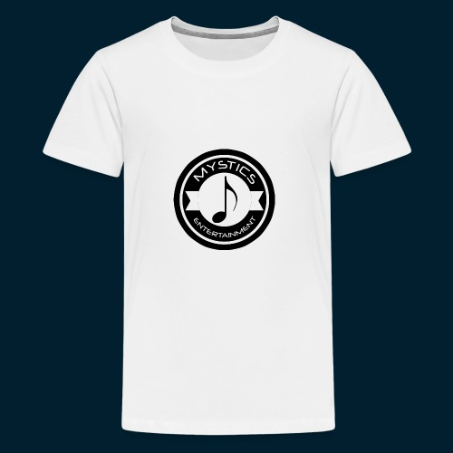 mystics_ent_black_logo - Kids' Premium T-Shirt