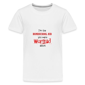 Homeschool Kid Warning - Kids' Premium T-Shirt