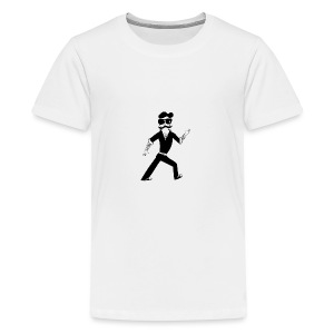 The Famous Mr Warrior - Kids' Premium T-Shirt