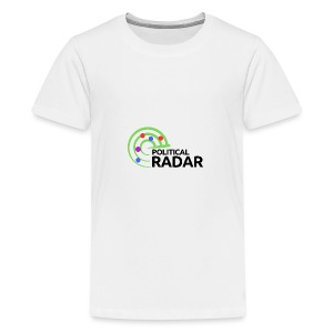 Political Radar Logo - Black - Kids' Premium T-Shirt