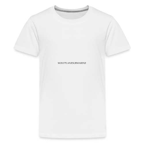 WOLFPLANESUBMARINE - Kids' Premium T-Shirt