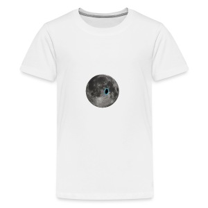 Portal on the Moon - Kids' Premium T-Shirt