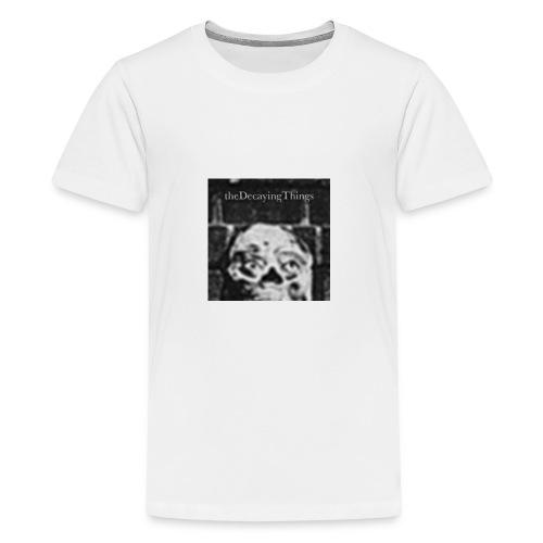 the Decaying Things _ Ghetto Goth - Kids' Premium T-Shirt