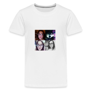 The Awesomeness Selfie Collage - Kids' Premium T-Shirt