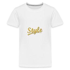 Step in style merchandise - Kids' Premium T-Shirt
