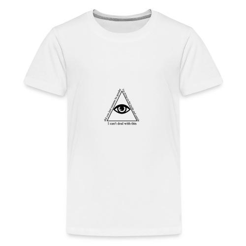 white_eye_w - Kids' Premium T-Shirt