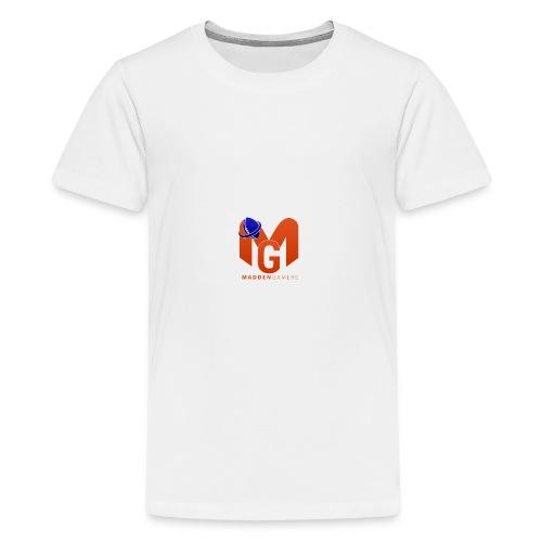 MaddenGamers MG Logo - Kids' Premium T-Shirt