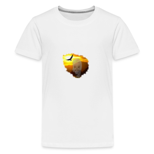 Sunsets and the spirit of the wilderness - Kids' Premium T-Shirt