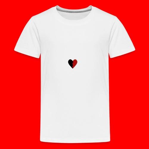 lil hearts (2lit clothing) - Kids' Premium T-Shirt