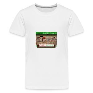 Make Mashinani great. - Kids' Premium T-Shirt
