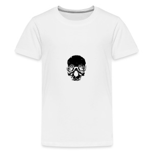 Skull rose - Kids' Premium T-Shirt
